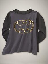 NWT Baby GAP Junk Food Superhero Batman Cape Tee Shirt Long Sleeves NEW Boy 2T