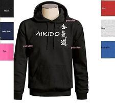 Aikido Sweatshirt Japanese Martial Art Combat Fighting  Hoodie SIZES S-3XL