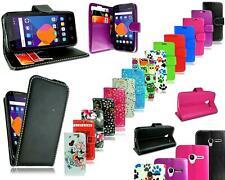 New Leather Flip Wallet Phone Case For Alcatel Pixi 3 4.5 OT 4027 + Screen Guard