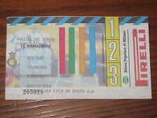 INTER UDINESE BIGLIETTO TICKET 1997/98 SERIE A