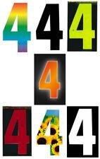 Self Adhesive Weatherproof Wheelie Bin Numbers 17cm High Visibility Number_4