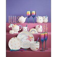Iridescent Tableware Unicorn Kitchen Mug Canister Utensil Teapot Tea Cup Dinner