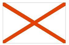 ALABAMA Flag Sticker MADE IN USA F11 YOU CHOOSE SIZE