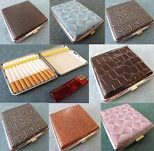 Edle Zigarettenetui für 14, 16 , 20 Zigaretten Etui Zigarettenbox versch.Motive