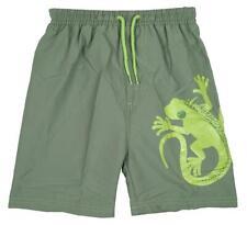 Boys Shorts Swim Mesh Insert Lizard Gecko Beach Baby Surf 3 Months to 4 Years