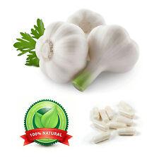 Garlic 300mg Capsules Tablet Healthy Heart Reduce Blood Pressure & Cholesterol