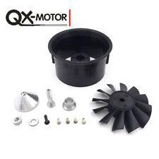 QX-MOTOR 12 Blades 64mm Impeller EDF mit gefächertem Fasszubehör