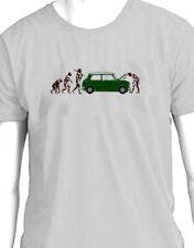"""Mini Cooper s """"Evolution of Man breakdown"""" t-shirt"""