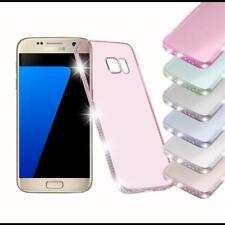 Coque pour Samsung Galaxy Antichoc Strass Paillettes Bling Diamante Silicone TPU