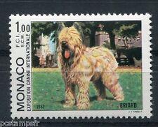 MONACO 1982, timbre 1330, CHIEN BRIARD, neuf**