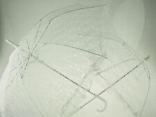 Parasol Lace Metal Umbrella Formal Occasions Wedding Bridal Shower Accessories