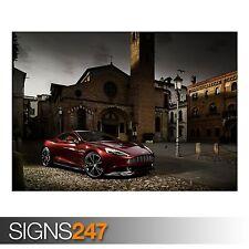 Aston martin M310 vanquish (AA167) voiture affiche-poster print art A0 A1 A2 A3