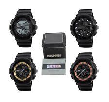 SKMEI Digital & Analog Chrono 5ATM Date Watch with Warranty Card & Display Box