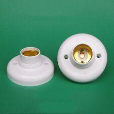 Home DIY Lamp Accessory E27 Lamp Base Round Socket Bulb Holder Screw Light
