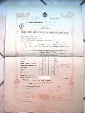 DIPLOMA LICENZA COMPLEMENTARE Eleonora Pimentel Fonseca Napoli TOLVE POTENZA 2