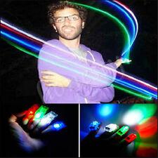 100x LED Finger Lights Lamps Party Laser Finger NEW Light Torch Glow Ring