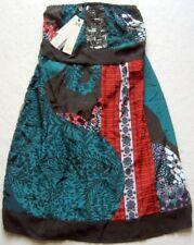 DEPT Damenkleid ohne Träger Mehrfarbig Gr. XS Gr. M