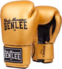 Benlee Boxhandschuhe Rodney, hochwertige Verarbeitung u. Material. 10-14Oz Gold