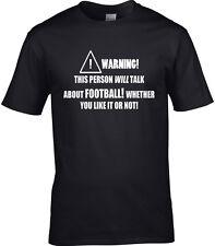 Football Hommes T-shirt drôle Hobby décoration idéal cadeau COUPE DU MONDE euros