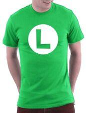 Luigi t-shirt mario