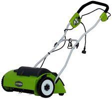 GreenWorks 10Amp Electric Dethatcher 27022 New