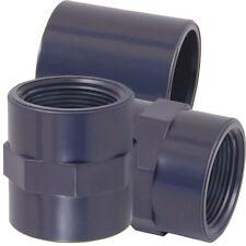 Pilmat PVC Fitting Muffe Klebemuffe Klebefitting 25 mm x 25mm