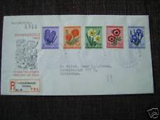 FDC E 13 - E13 Zomerzegels 1953 getypt adres R-strook