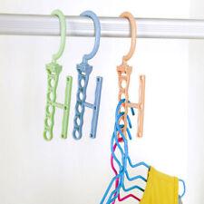 5Hole Space Saver Wonder Magic Hook Hanger Closet Organizer Space Save Practical