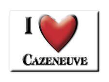 MAGNETS FRANCE - MIDI PYRÉNÉES SOUVENIR AIMANT I LOVE CAZENEUVE (GERS)