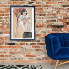 Egon Schiele - Nude Woman Wall Art Poster Print