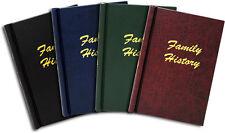 A4 Binder - Springback Folder / Album - Family History Leather Effect