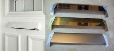 Postal Letter Box Plate Safety Security Hood Visor Baffle Cowl Plates internal
