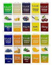 Liquid 10 x 10 ml - YAAK® E-Liquid 100 ml in verschiedenen Nikotinstärken Mix 31