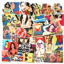 Sexy Hottie Tattoo Pinup Sticker Car Skateboard Laptop Bumper Motor Vinyl Decal