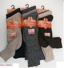 12 Pares De Para Hombre Calcetines De Lana Larga Grueso, Grueso Trabajo Pesado deber Boot calcetines, 6-11