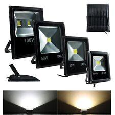 10W 20W 30W 50W 100W LED Flood light  Outdoor Slim Style Spotlight black