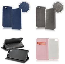 Carbon Samsung Galaxy Huawei Sony Tasche Cover Hülle Schutzhülle Metallic Look