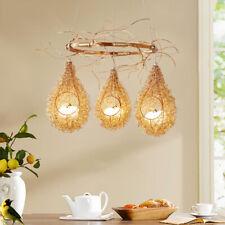 Bird's Nest Glass Chandelier Pendant Lamp Light LED Aluminum Ceiling Fixtures