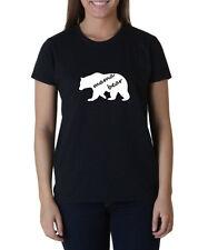 Ladies Mama Bear #3 Shirt Mom Gift Cool Wife T-Shirt Mother Tee Present Idea