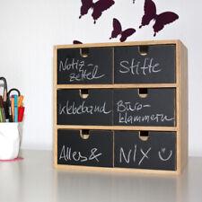 Tafelfolie Etiketten für Mini-Kommode Nr. 2 Aufkleber Wandtattoo