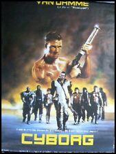 CYBORG Affiche Cinéma / Movie Poster JEAN CLAUDE VAN DAMME