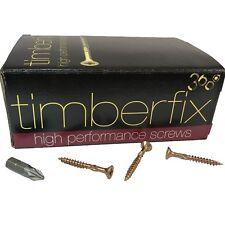 8g 4mm x 35mm PREMIUM CHIPBOARD PLY WOOD TIMBER SCREWS POZI CSK TIMBERFIX 360