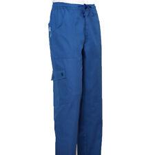 16e1e085ec Pantalone elastico da uomo comodo lavoro cotone salumiere macellaio operaio