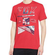"Fox Racing Men's ""Mapped Out"" Short Sleeve T-shirt Motocross Racing Fox Head Tee"