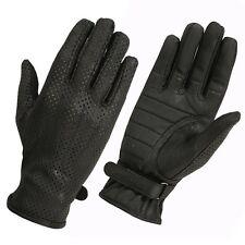 Hugger Women Summer Gloves Ventilated Back Ladies Driving & Riding Glove XS - XL