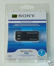 BRAND NEW SONY 1GB Memory Stick MSX-1GST PRO SEALED PACK