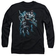 Batman Evil Rising Mens Long Sleeve Shirt