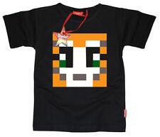 Kids Childrens Boys Girls Teenage Stampylongnose Stampy YouTube T-Shirt (Black)
