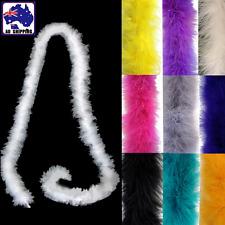 2m Turkey Feather Boa Scarf Fluffy Costume Dress Cosplay Decoration XMAS CKFE778