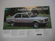advertising Pubblicità 1981 FIAT ARGENTA 2000